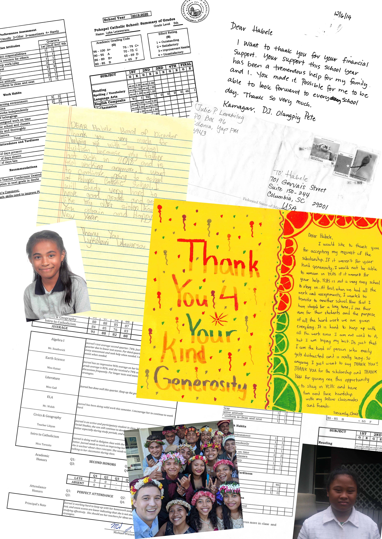 Pics Scholarships Fundraising Letter 2020