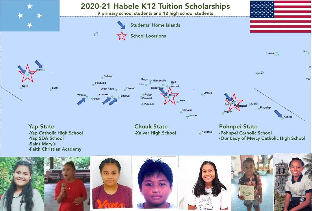 Habele K12 Tuition Scholarships Micronesia, FSM
